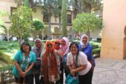 Alhambra Gardens Tour for Muslim Travelers Granada