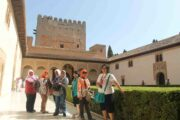 Alhambra Tour - Muslim Women Travelers - Andalusia