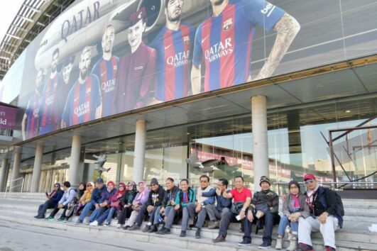 Camp Nou Barcelona - Spain Halal Tour -llimtour Muslim Travels