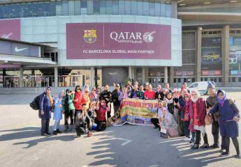 Muslim Travelers group Camp Nou - Barcelona Tour - Ilimtour Travels