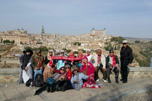 Toledo View Point - Spain Muslim Tour - Ilimtour European Muslim Travels