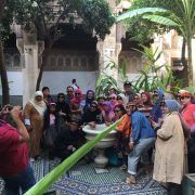 Bahia Palace-Marrakesh-Morocco Muslim tour-Indonesian Guide-Morocco Spain Tour-ilimtour