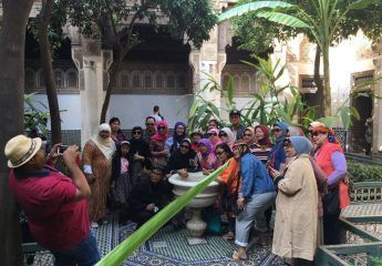 Bahia Palace-Marrakesh-Morocco Muslim tour-Indonesian Guide-Morocco Spain Tour-ilimtour