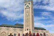 Casablanca-Mosque Hassan II-Morocco Muslim tour-Indonesian Guide-Morocco Spain Tour-ilimtour