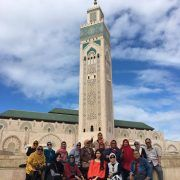 Casablanca-Mosque Hassan II-Morocco Muslim tour-Indonesian Guide-Morocco Spain Tour-ilimtour