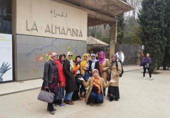 European Travels for Muslim women - Granada Alhambra Tour