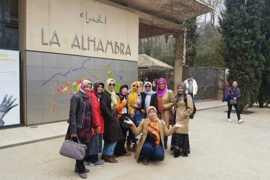 European Travels for Muslim women - Granada Alhambra Tour