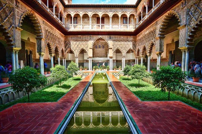 Seville Royal Alcazar Muslim Travels Spain Tours