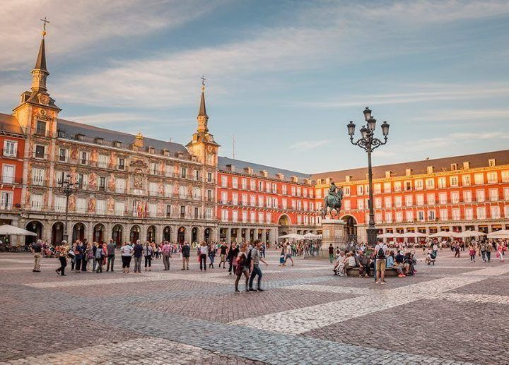Plaza Mayor Madrid Halal Travel