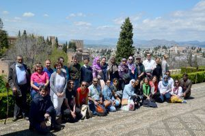 Students of The Art of Pattern - Educational Tour Granada Spain