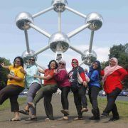Atomium Brussels Europe Private Muslim Tour