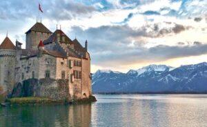 Chateau de Chillon, Montreux Switzerland Europe Tours ilimtour