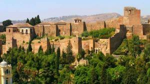 Gibralfaro Castle Malaga Tour for Muslim Travelers ilimtour