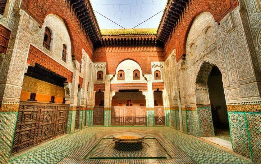 La-medersa-Bou-Inania Morocco Tour ilimtour