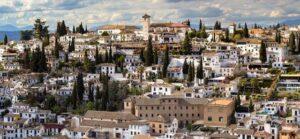 Albaicin historical center grabada tour
