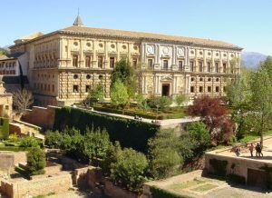Alhambra Tour - Charles V Palace - ilimtour Muslim Travels