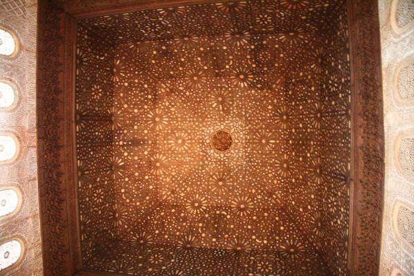 Hall of Comares ceiling Alhambra