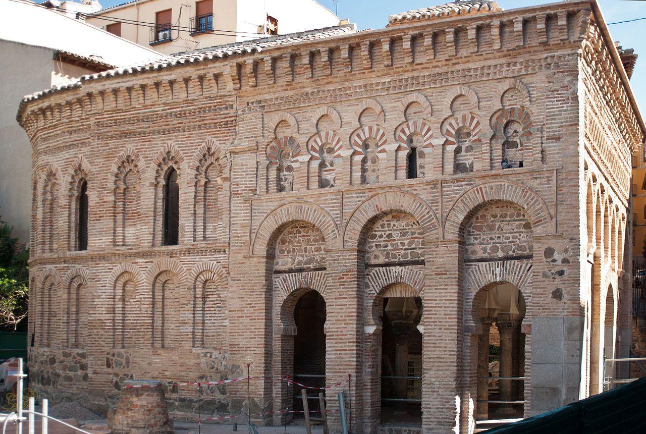 Mosque of Cristo de la Luz. Image from Ignasilm. in https://commons.wikimedia.org